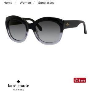 Kate Spade Arianna Gradient 55mm Sunglasses